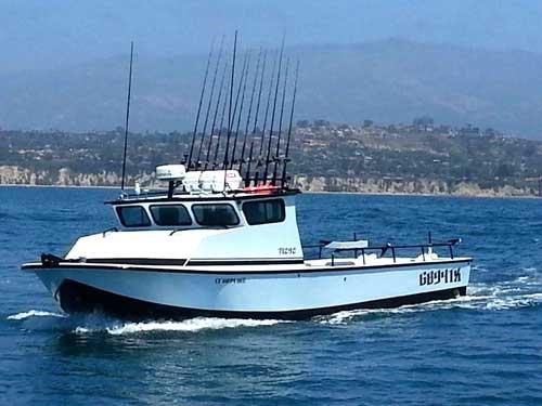 santa barbara sportfishing charters boat rock steady