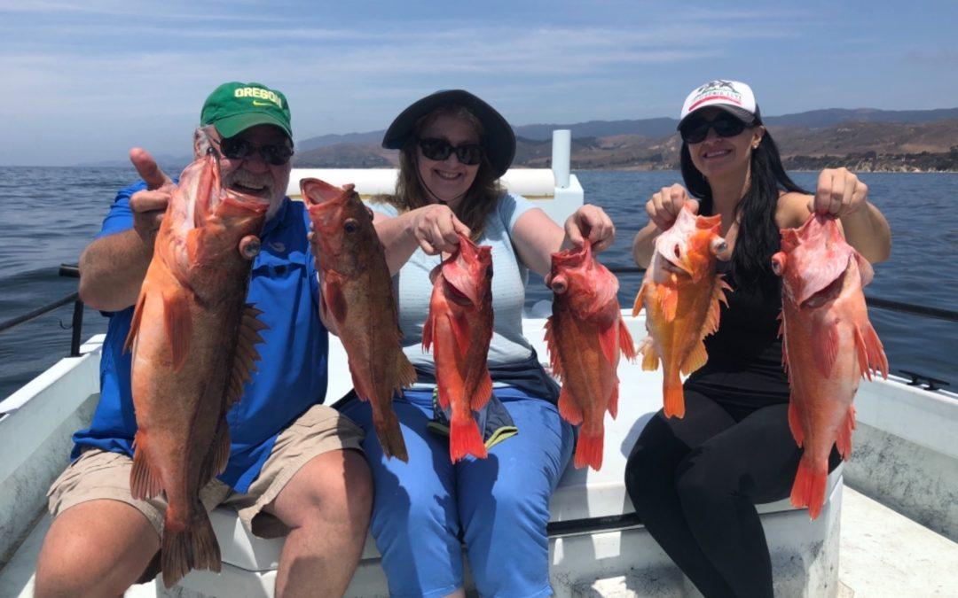 July Santa Barbara Sportfishing Charter Trip Reports